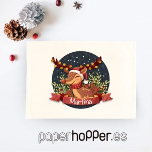 Sorteo Especial Navidad. Diseño: Reno