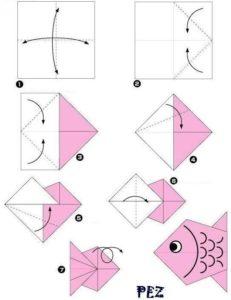 Ideas reutilizar el papel de regalo con Origami