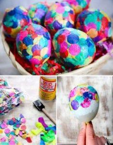 Huevos confeti
